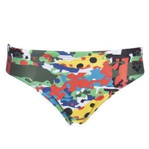 B Camouflage Jr Brief Çocuk Çok Renkli Yüzücü Mayosu 002955500