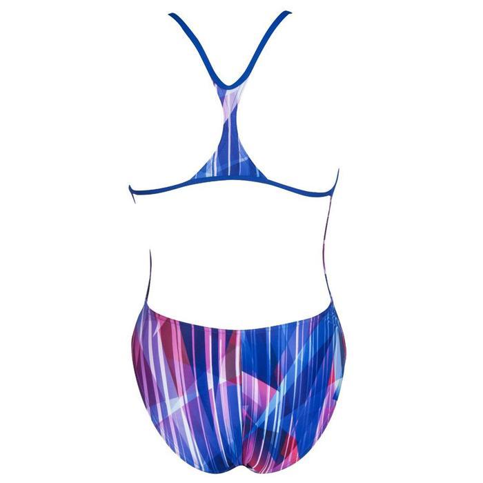 W Shading Prism Booster Back One Piece Kadın Çok Renkli Yüzücü Mayosu 002867770 1164782