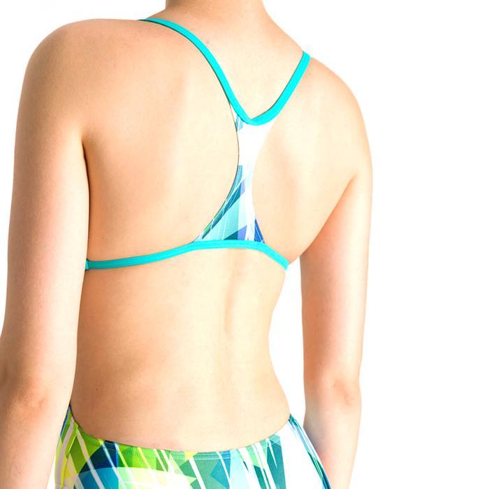 W Shading Prism Booster Back One Piece Kadın Çok Renkli Yüzücü Mayosu 002867870 1146716
