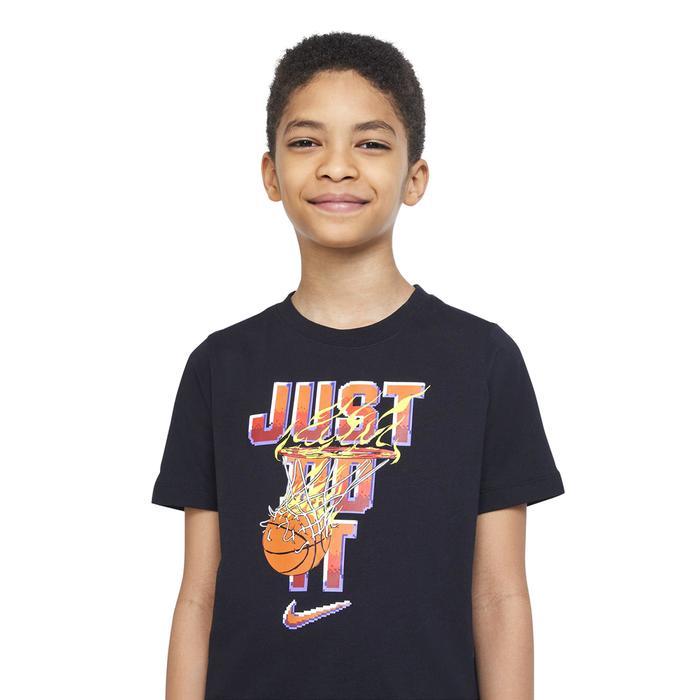 B Nsw Tee Basketball Gamer Jdi Çocuk Siyah Günlük Stil Tişört DJ6626-010 1308907