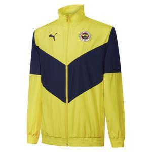 Fenerbahçe SK 21/22 Sezonu Erkek Sarı Futbol Ceketi 76701901