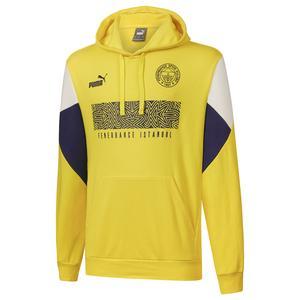 Fenerbahçe SK 21/22 Sezonu Erkek Sarı Futbol Sweatshirt 76703301