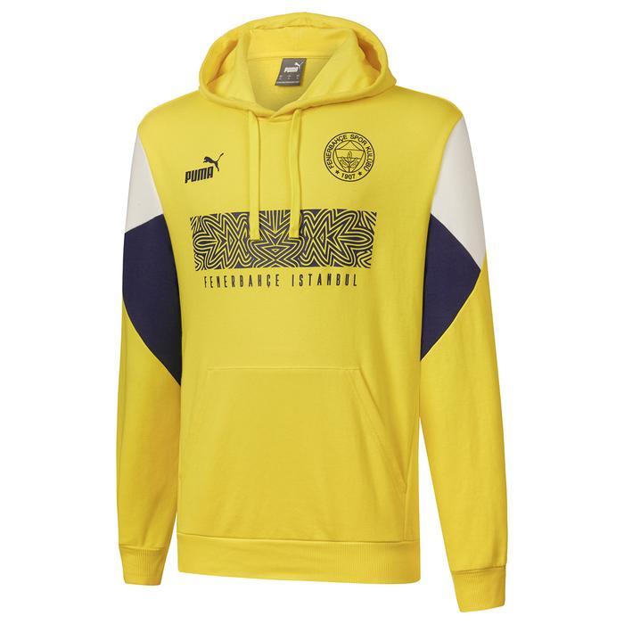 Fenerbahçe SK 21/22 Sezonu Erkek Sarı Futbol Sweatshirt 76703301 1297610