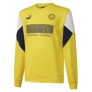 Fenerbahçe SK 21/22 Sezonu Erkek Sarı Futbol Sweatshirt 76703201