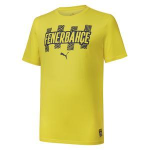 Fenerbahçe SK 21/22 Sezonu Erkek Sarı Futbol Tişört 76702201