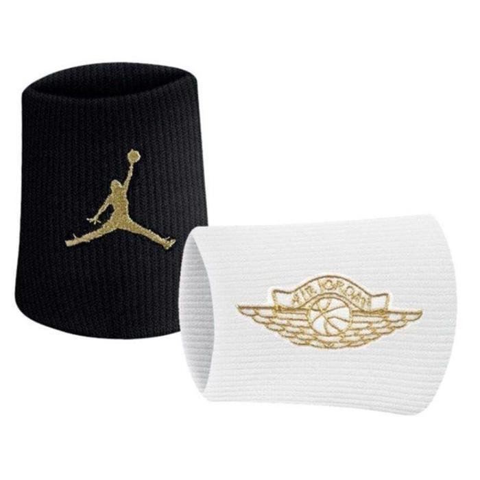 Jordan Jumpman Wings Wristbands 2.0 2 Pk NBA Unisex Siyah Basketbol Bileklik J.000.3598.092.OS 1092648