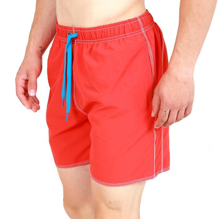 Fundamentals Solid Boxer Erkek Kırmızı Yüzücü Mayosu 4051548 1032769