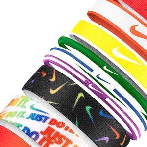 Mixed Hairbands 9 Pk Unisex Çok Renkli Antrenman Saç Bandı N.000.3537.950.OS