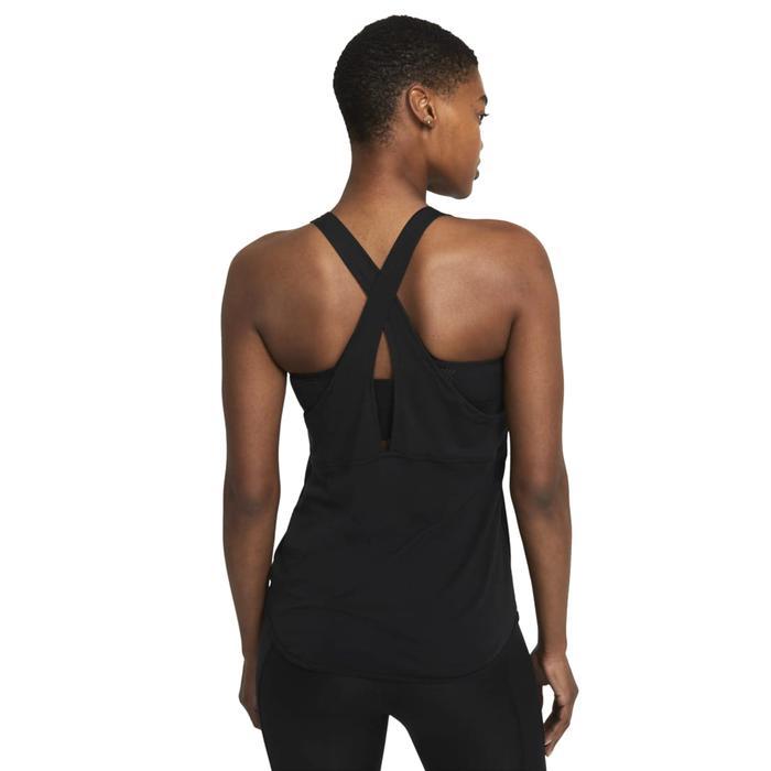 W Nk Breathe Tank Cool Kadın Siyah Koşu Atlet CZ9608-010 1283292