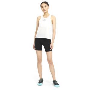 W Nk City Sleek Tank Trail Kadın Siyah Koşu Atlet CZ9553-077