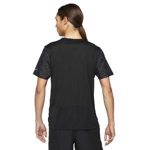 M Nk Df Run Dvn Nv Rise 365 Ss Erkek Siyah Koşu Tişört DD4851-010