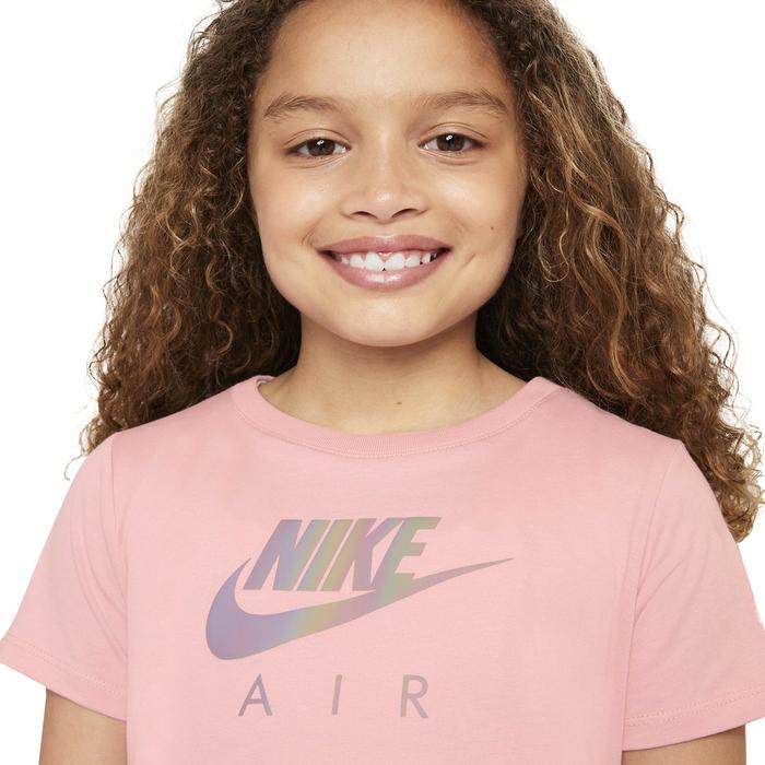 G Nsw Tee Crop Air Çocuk Pembe Günlük Stil Tişört DJ6932-630 1308923