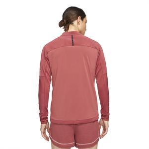 M Nk Df Run Dvn Element Fz Erkek Kırmızı Koşu Uzun Kollu Tişört DD4929-661
