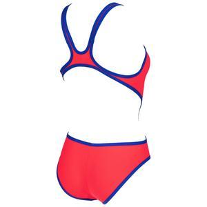 W One Biglogo One Piece Kadın Kırmızı Yüzücü Mayosu 001198480