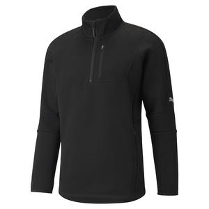 Evostripe Half-Zip Erkek Siyah Günlük Stil Sweatshirt 58941901