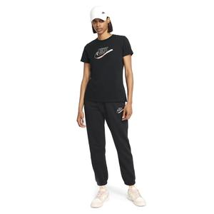 W Nsw Tee Futura Kadın Siyah Günlük Stil Tişört DJ1820-010