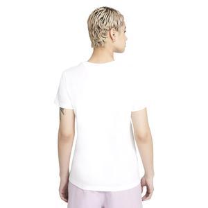 W Nsw Tee Futura Kadın Beyaz Günlük Stil Tişört DJ1820-100
