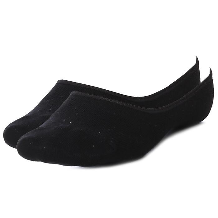 Sportive Babet  Çorap 2 Li Unisex Siyah Günlük Stil Çorap 2021004-SYH 1289056