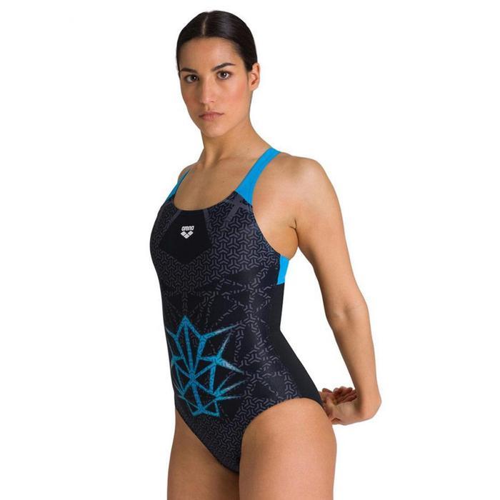 W Og Swim Pro Back One Piece Kadın Siyah Yüzücü Mayosu 003859580 1303857