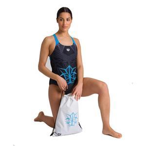W Og Swim Pro Back One Piece Kadın Siyah Yüzücü Mayosu 003859580