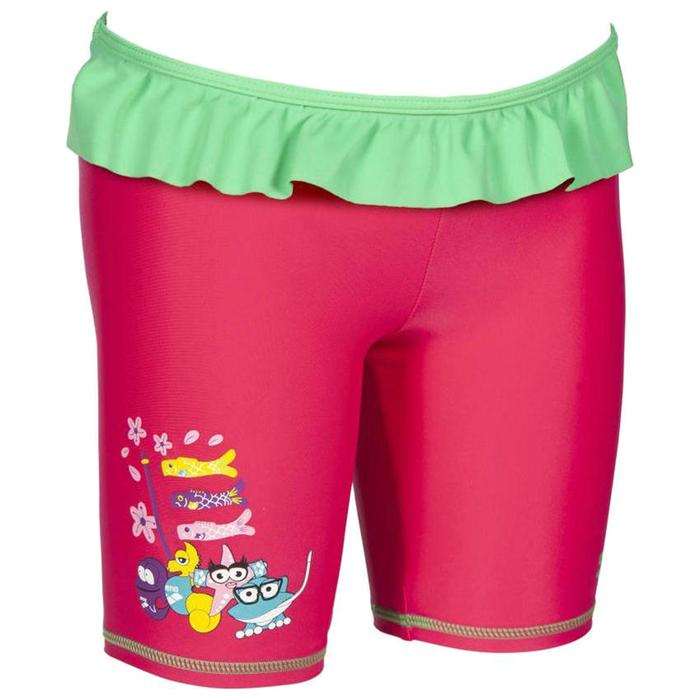 Awt Kids Girl Uv Jammer Çocuk Çok Renkli Yüzücü Mayosu 003093906 1267654