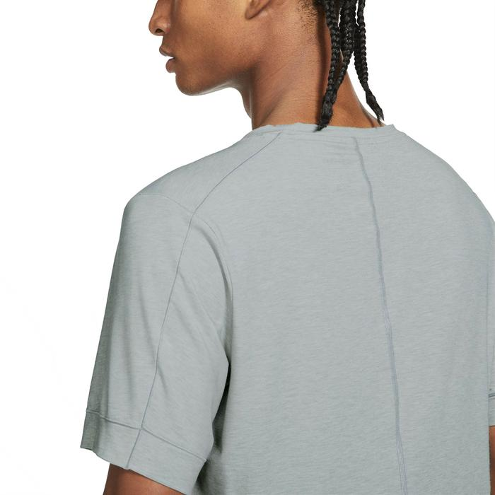 Df Top Ss Yoga Erkek Siyah Günlük Stil Tişört BV4034-079 1304562