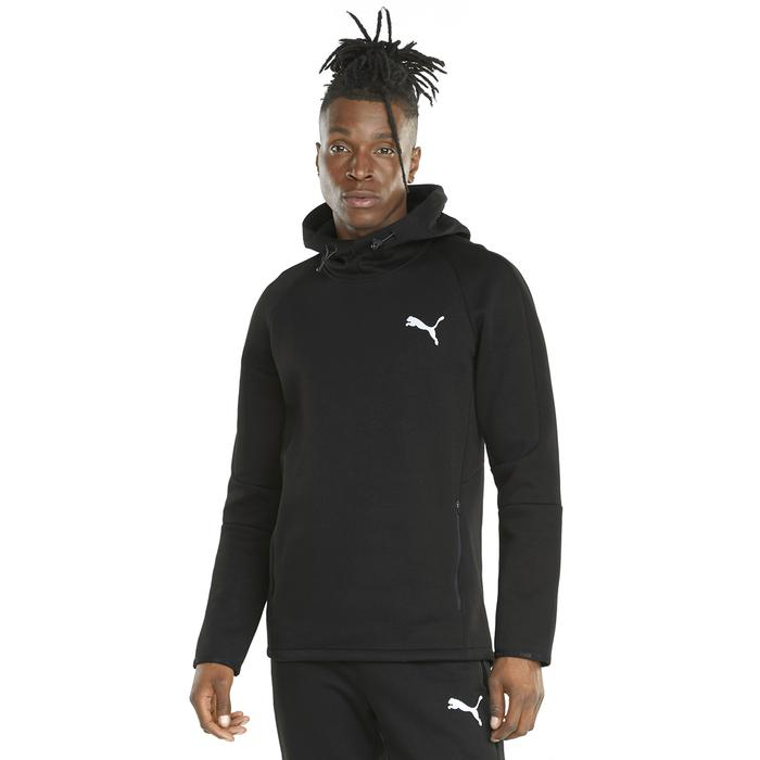 Evostripe Hoodie Erkek Siyah Günlük Stil Sweatshirt 58942201 1247795