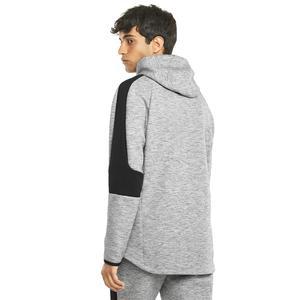 Evostripe Hoodie Erkek Gri Günlük Stil Sweatshirt 58942203