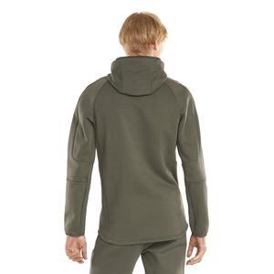 Evostripe Hoodie Erkek Mavi Günlük Stil Sweatshirt 58942244