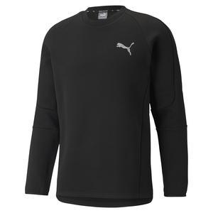 Evostripe Crew Erkek Siyah Günlük Stil Sweatshirt 58941801