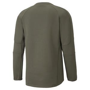 Evostripe Crew Erkek Mavi Günlük Stil Sweatshirt 58941844