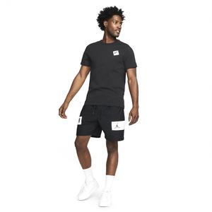 Air Jordan NBA Mesh Gfx Short Erkek Siyah Basketbol Şort CZ4771-010