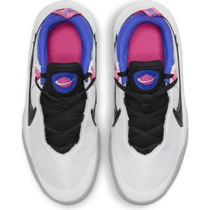 Team Hustle D 10 Se (Gs) Çocuk Beyaz Basketbol Ayakkabısı DH8053-100