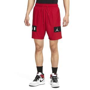 Air Jordan NBA Mesh Gfx Short Erkek Kırmızı Basketbol Şort CZ4771-687