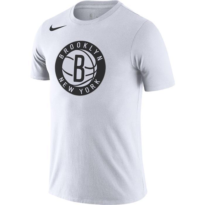 Brooklyn New York Es Logo Ss Tee Erkek Beyaz Basketbol Tişört DA5999-100 1306886