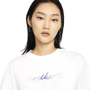 W Nsw Bf Tee Craft Kadın Beyaz Günlük Stil Tişört DJ1834-10