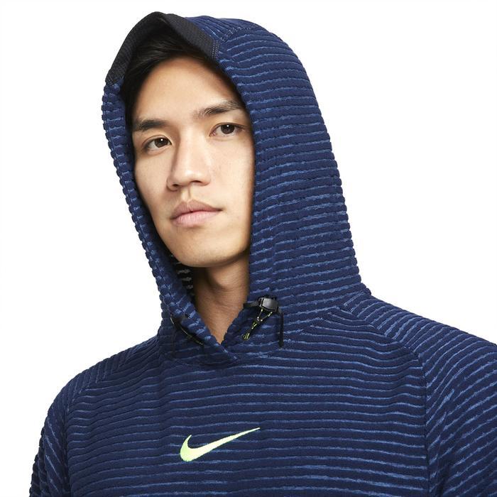 M Np Df Npc Adv Flc Po Erkek Mavi Günlük Stil Sweatshirt DD1707-451 1307526