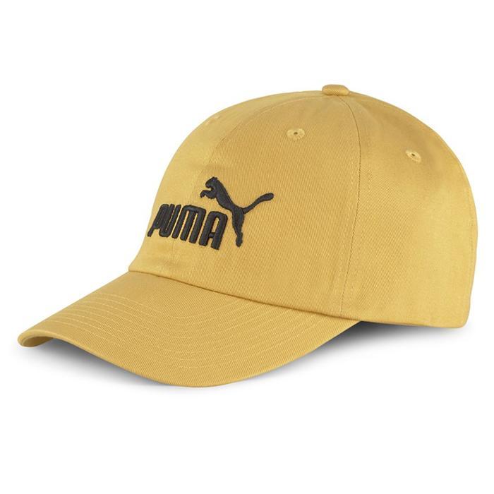 Ess Cap Unisex Sarı Günlük Stil Şapka 02241673 1248804