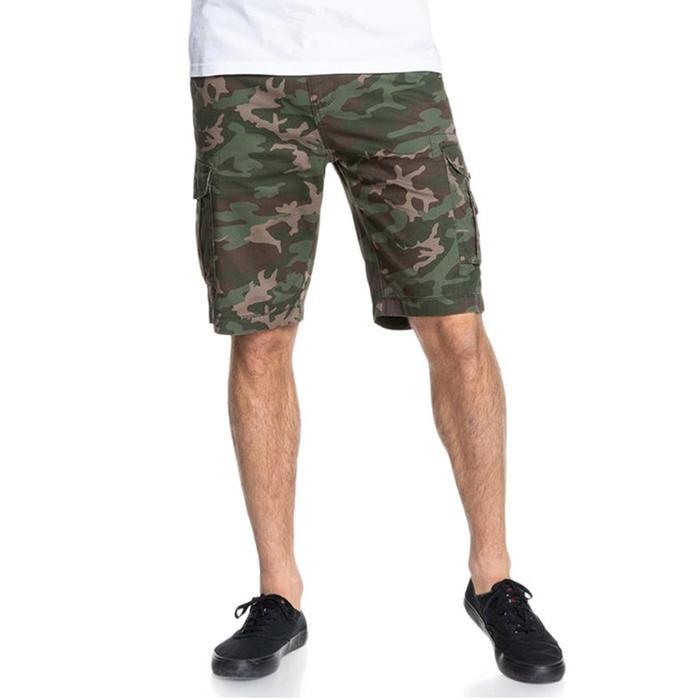 Crucial Battle Short Erkek Yeşil Günlük Stil Şort EQYWS03456-GPB6 1148942