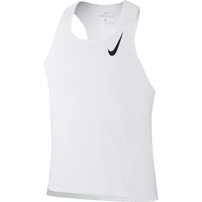 Aeroswift Erkek Beyaz Koşu Atlet CJ7835-100 1316918
