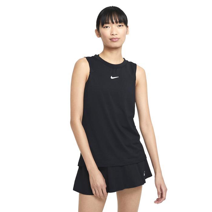 W Nkct Df Advtg Tank Kadın Siyah Günlük Stil Atlet CV4761-010 1305557