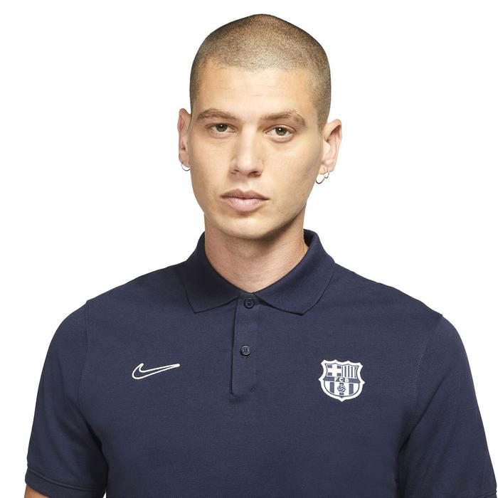 Fcb M Nk Polo Slim Erkek Mavi Futbol Polo Tişört CW5300-451 1305813
