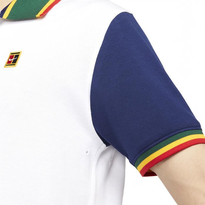 The Polo Df Heritge Slim2 Erkek Beyaz Günlük Stil Polo Tişört DA4379-100 1306792