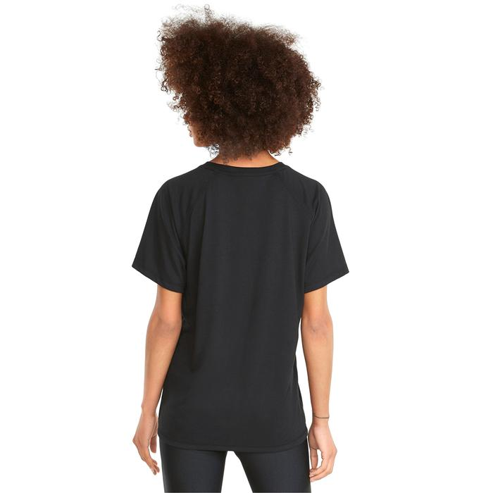 Evostripe Kadın Siyah Günlük Stil Tişört 58914301 1247287