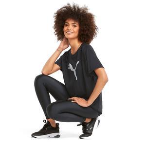 Evostripe Kadın Siyah Günlük Stil Tişört 58914301