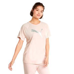 Evostripe Kadın Pembe Günlük Stil Tişört 58914336