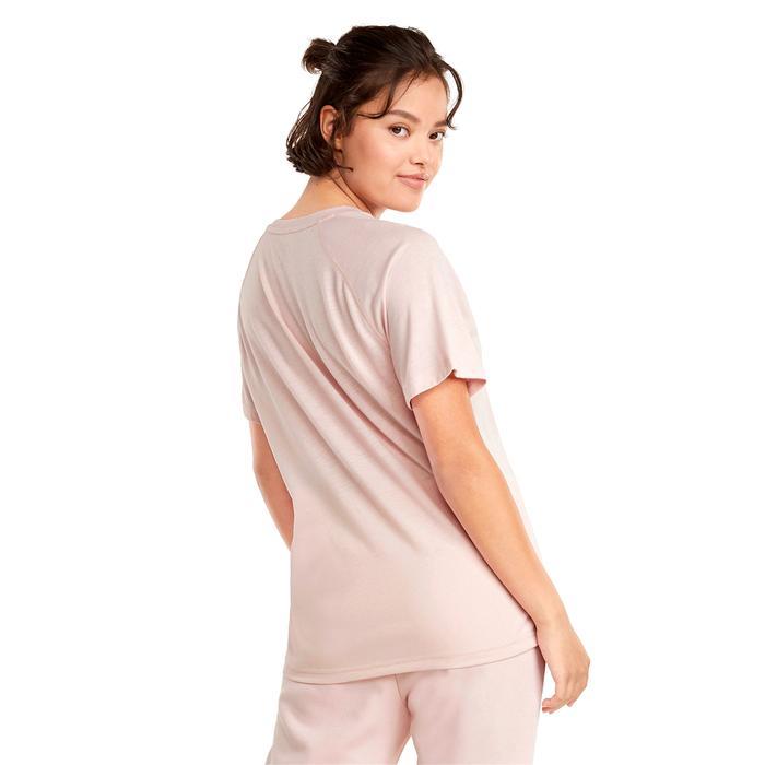 Evostripe Kadın Pembe Günlük Stil Tişört 58914336 1247301
