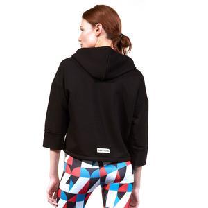 Lw Fleece W Hoodie Kadın Siyah Günlük Stil Sweatshirt S211277-001