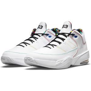 Jordan Max Aura 3 NBA Erkek Beyaz Basketbol Ayakkabısı CZ4167-101
