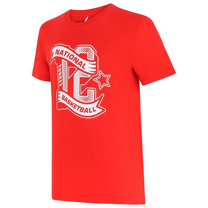 Türkiye Basketbol Milli Takım Fan Erkek Kırmızı Basketbol Tişört 53485801 1317082